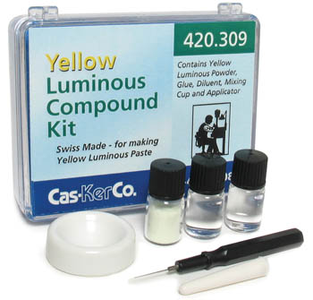 Luminous Paste Kit Cas-Ker Yellow