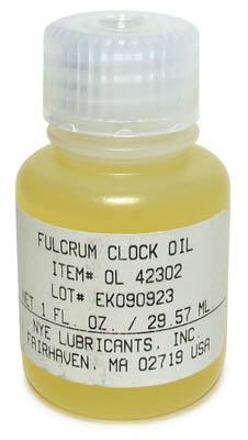 Nye Fulcrum Clock Oil