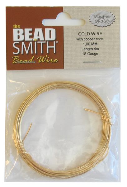 Beading Wire German Gold