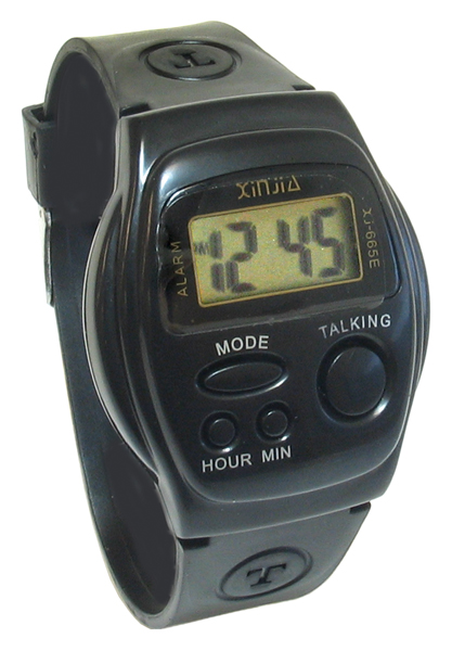 Talking Watch, available from Cas-Ker