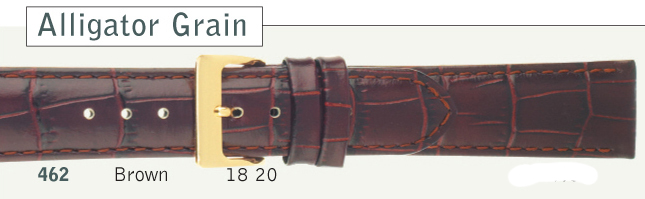 Alligator Grain Brown