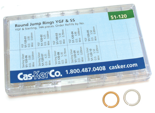Jeweler's Findings | Jewelry Making Supplies | Jump Ring
