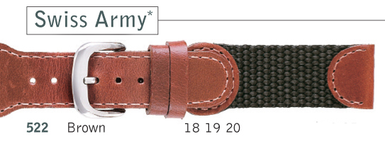 Swiss Army Watch Straps | Cas-Ker Co.