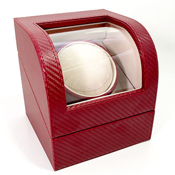 Ritzy Red Watch Winder from Cas-Ker