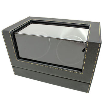 Black Duel Head Watch Winder