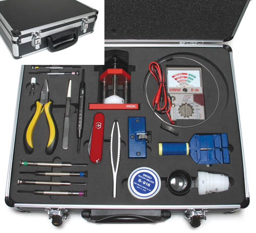 Cas-Ker Watchmaker's Tool Kit