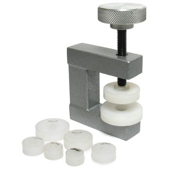 Watch Case Press with Non-Marring Dies