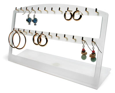 Earring Display Plexiglass