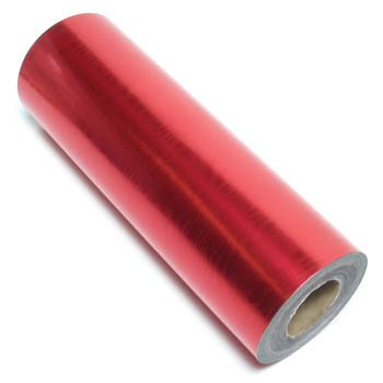 Gift Wrap - Red Foil Moir