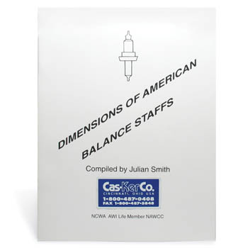 Dimensions of American Balance Staffs Booklet