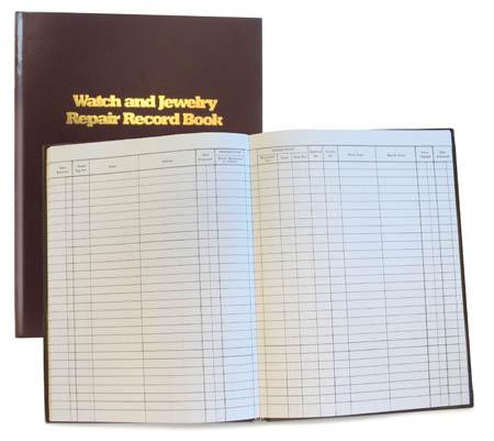Repair Record Book