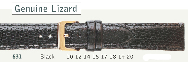 Genuine Lizard Watch Strap from Cas-Ker