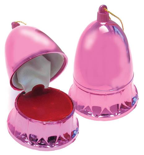 Cas-Ker Christmas Jewelry Novelty Box