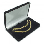 Cas-Ker Nylon Flock Jeweler's Gift Box