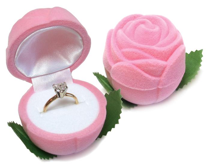 Cas-Ker Rosebud Jewelry Novelty Box