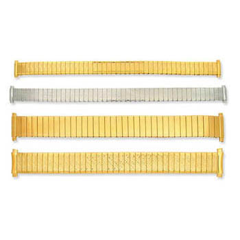 Cas-Ker Metal Stretch Watch Band
