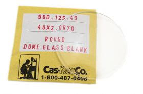 Round Dome Glass Blank