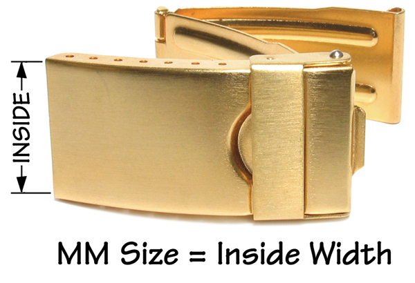 Stainless steel trifold clasp