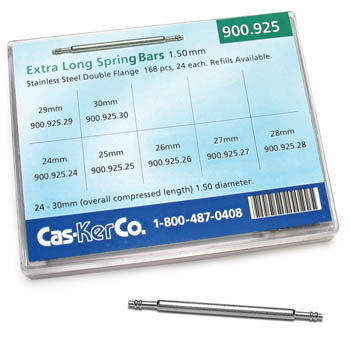 Extra Long Spring Bar Assortment