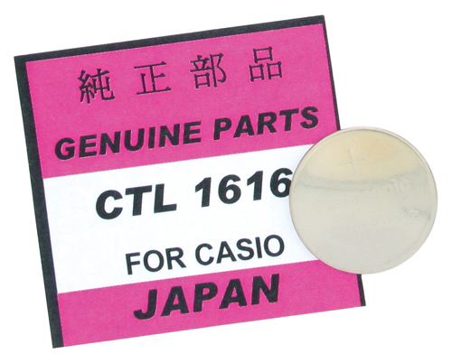 Casio Watch Battery CTL1616
