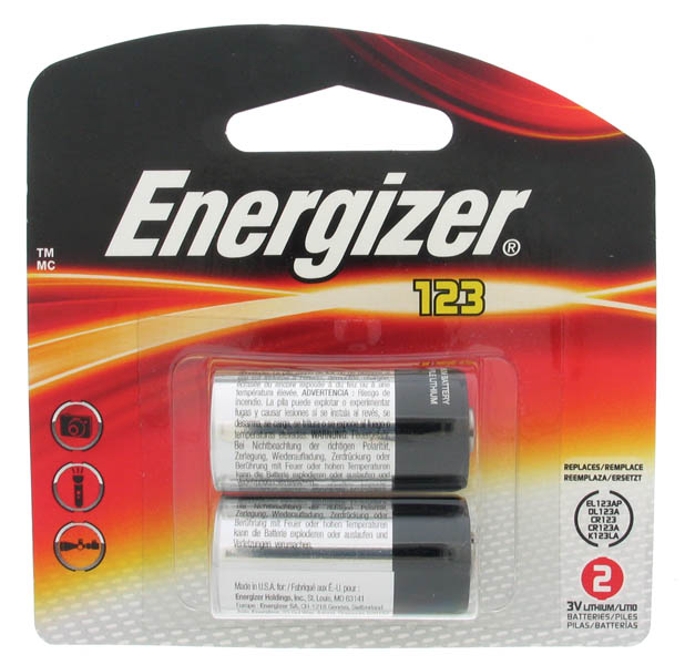 Energizer Battery 123