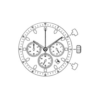 Miyota Watch Movement from casker.com