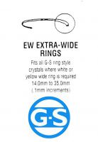 G-S Extra Wide EW Rings