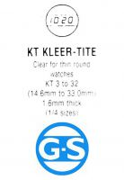 G-S KT  Plastic Watch Crystal