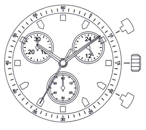 Miyota Watch Movement JS Series