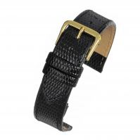 Budget Lizard Watch Strap R616S Black