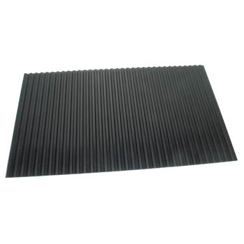 Bench Mat Rubber with Ridges Large