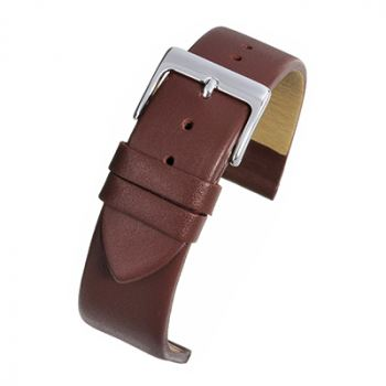 Burgundy Leather Watch Strap W102