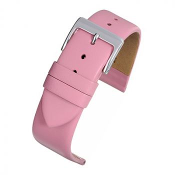 Pink Leather Watch Strap from Cas-Ker