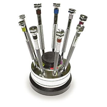 9 Watchmakers Screwdrivers Set 520.541