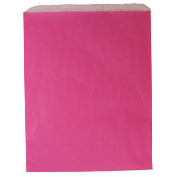 Wild Rose Colored Paper Gift Bags