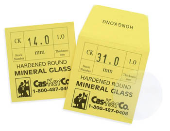 CK 1.00 Flat Watch Crystals