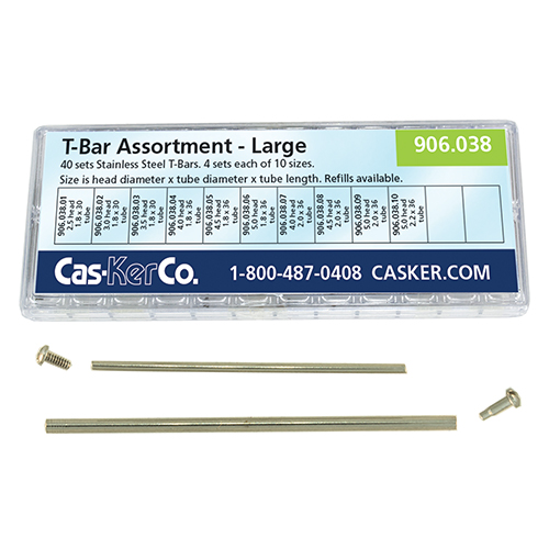 Cas-Ker Large Size T-Bars for Watches