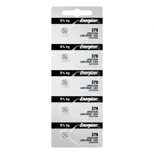 Energizer 379 Batteries 5-pack