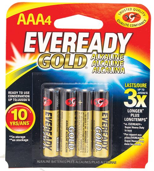Get Eveready AAA Batteries from Cas-Ker