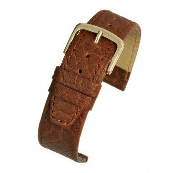 Honey Leather Watch Strap W906